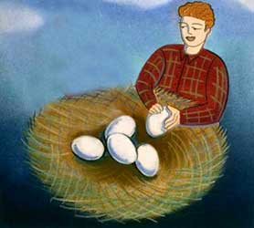 ضرب المثل, قاضی, دزدی, داستان ضرب المثل،تخم مرغ دزد، شتر دزد می شود ضرب المثل در مورد دزد