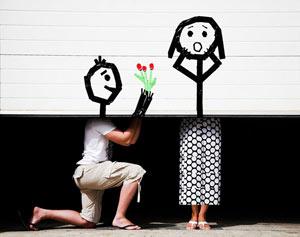 ازدواج, مراسم خواستگاری, طنز ازدواج