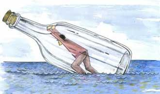 غرق شدن, طنز جالب و خنده دار