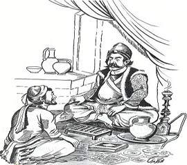 داستان ضرب المثل, شیخ علی خان