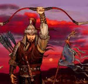 ریشه ضرب المثل, چنگیز خان مغول،آمدند و کندند و سوختند و کشتند و بردند و رفتند