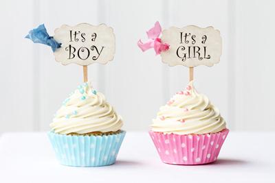 فال جدول چینی, فال و طالع بینی پیش بینی جنسیت نوزاد