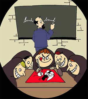 طنز روزهای مدرسه, تقلب, مدیر مدرسه