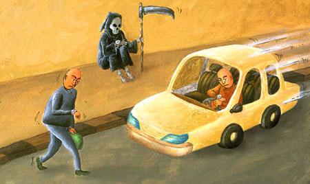 کاریکاتورهای زیبای مرگ , کاریکاتور جدید