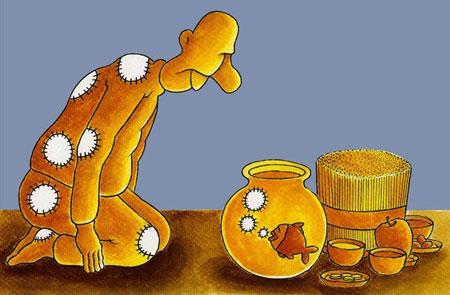 کاریکاتور های عید نوروز