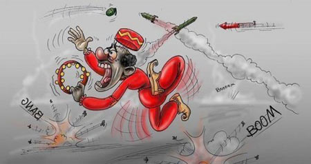 مراسم چهارشنبه سوری,کاریکاتورهای چهارشنبه سوری