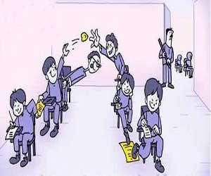 طنز پسرها و تقلب در امتحان