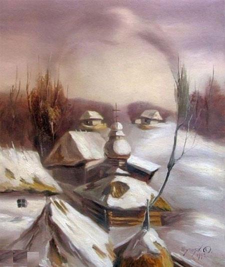 خطای دید انسان, تصاویر خطای دید, خطای دید چشم