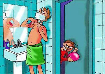 تصاویر طنز , مطالب خنده دار , کاریکاتور و تصاویر طنز
