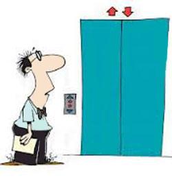 آسانسور , کارهای خنده دار