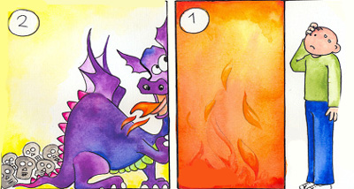 اژدهای آتشین, معماهای جالب, معما با جواب