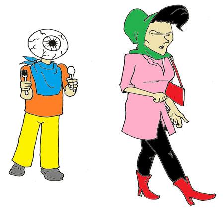 کاریکاتور و تصاویر طنز, کاریکاتور جدید