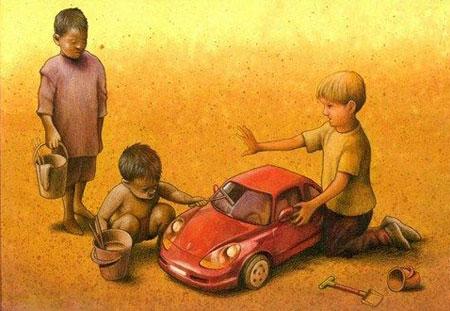 کاریکاتور اجتماعی, کاریکاتور های زیبا
