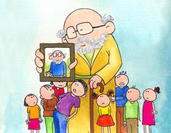 معمای سن پیرمرد + جواب