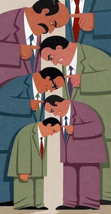 کاریکاتورهای مفهومی و جالب, کاریکاتور جنگ