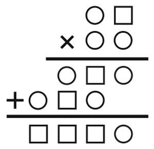تست هوش ریاضی, معمای تصویری