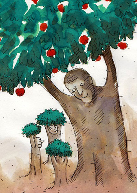 عکس های خنده دار, کاریکاتور روز پدر و مرد