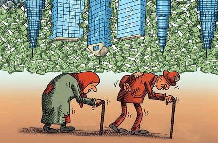 عکس های خنده دار, کاریکاتور فقر