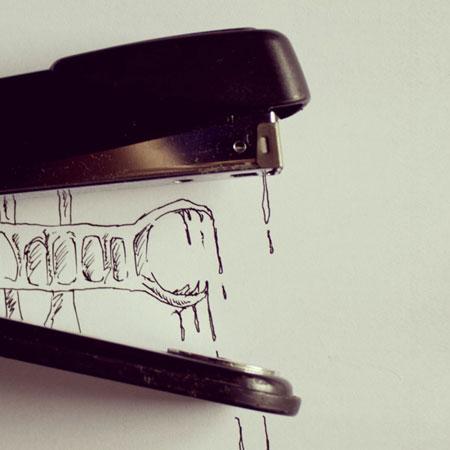 کاریکاتور مفهومی, نقاشی های ترکیبی