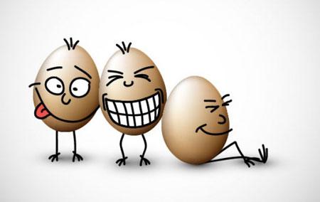 عکس خنده دار تخم مرغ 95,عکس طراحی از تخم مرغ95,عکس تزئین تخم مرغ باحال95