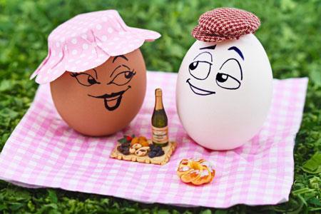 عکس تخم مرغ 95,تصاویر خنده دار از تخم مرغ95,شکل های جالب و خنده دار تخم مرغ95
