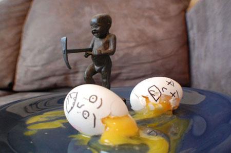 عکس خنده دار تخم مرغ,عکس طراحی از تخم مرغ95,عکس تزئین تخم مرغ باحال95
