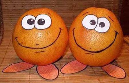 عکس های جالب و خنده دار از میوه ها