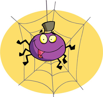 معمای جالب و جذاب شش عنکبوت