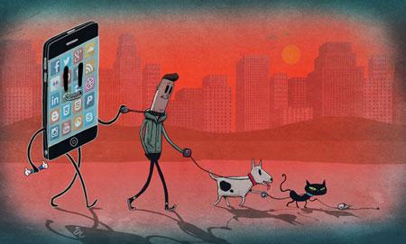کاریکاتورهای آموزنده, کاریکاتور جهان امروز