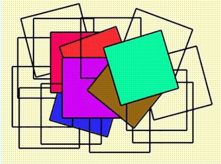 معمای مربعهای پنهان