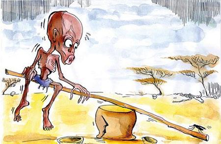 زیر خط فقر, کاریکاتور فقر در ایران