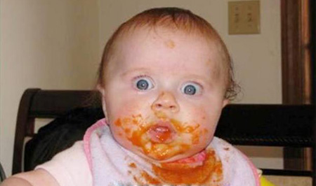 عکس های خنده دار نوزادان, عکس کودکان خنده دار
