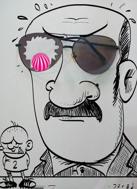 کاریکاتورهای زیبا و جدید جواد طریقی اکبرپور