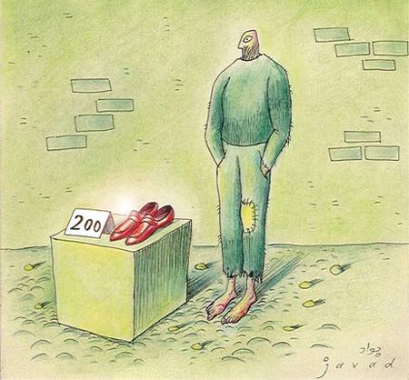 کاریکاتور جدید, کاریکاتورهای مفهومی