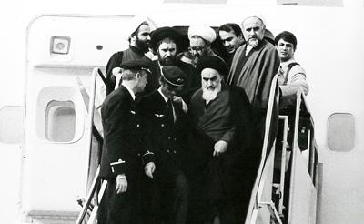 ورود امام به ایران, عکس ورود امام به ایران