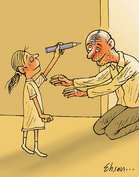 کاریکاتور مرد, کارتون روز پدر