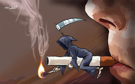کاریکاتور اعتیاد به مواد مخدر (۴)