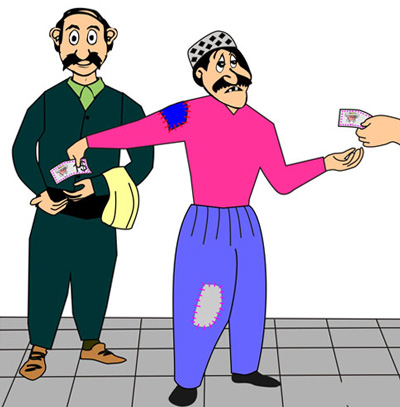 ضرب المثل های کردی , معنی ضرب المثل