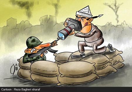 کاریکاتور روز خبرنگار, کاریکاتور و تصاویر طنز