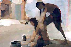 داستان نصوح,نصوح,حمام زنانه