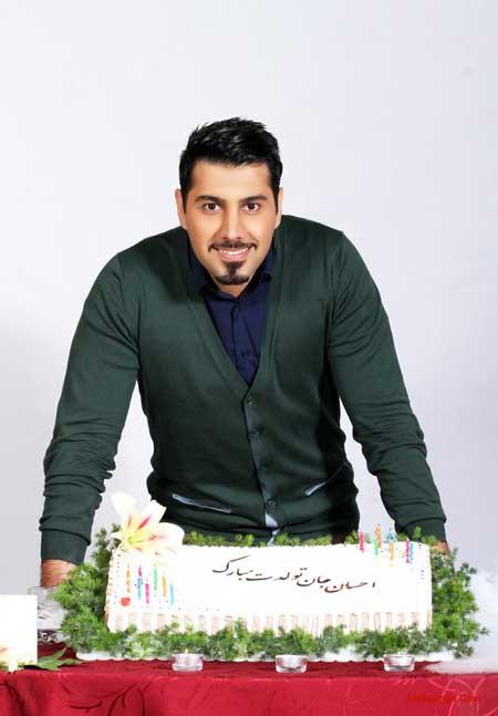 عکس های احسان خواجه امیری در جشن تولد ۳۰ سالگی اش با حضور سام درخشانی