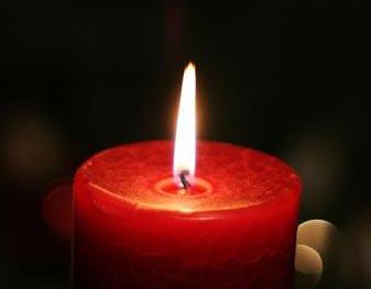 داستان جالب شمع قرمز