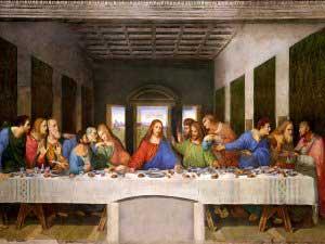 """داستان کشیدن تابلوی معروف """"شام آخر"""""""