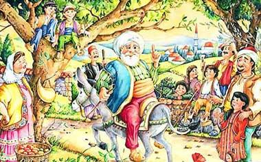 ملانصرالدین و دود کباب,حکایت,حکایت آموزنده,داستانهای آموزنده