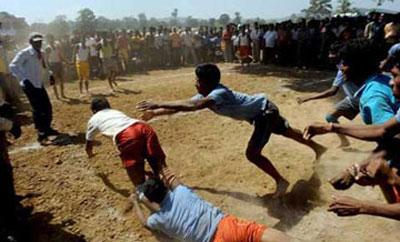 بازی محلی تيراوُمِه (يارآمد )