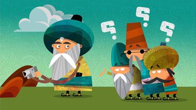 حکایت آموزنده شیخ و مرید فرصت سوز