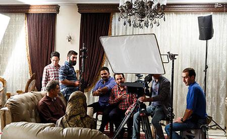 تصاویر بازیگران سریال پریا,پشت صحنه سریال پریا