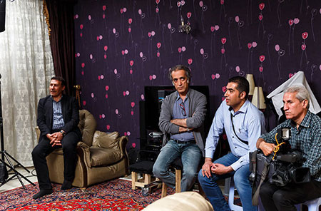 پشت صحنه سریال پریا،تصاویر سریال پریا