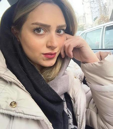 نهال دشتی بازیگر جوان ایرانی
