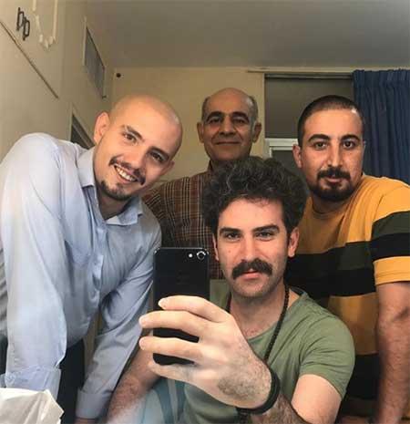 دنیای بازیگران|تصاویر امیر کاظمی + عکس همسر